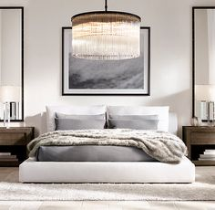 MINIMALISTMINDSET:: This space is simple but has the right elements to make it something special. Make your dream bedroom come true. - Architecture and Home Decor - Bedroom - Bathroom - Kitchen And Living Room Interior Design Decorating Ideas - Modern Bedroom Design, Contemporary Bedroom, Bedroom Designs, Modern Master Bedroom, Master Bedrooms, Modern Interior, Modern Luxury, Trendy Bedroom, Dream Bedroom