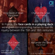 Find out what the suits and colors of playing cards may represent.