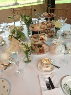 Small high tea selection from the kitchens at Maunsel House