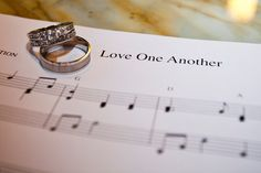 Ring and sheet music | Matt Mason Photography | Lake Geneva, WI