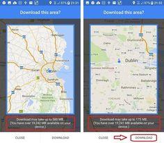 Google maps offline: download Guinness Storehouse, Maps, University, Technology, Let It Be, Website, Google, Tech, Blue Prints