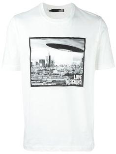 Love Moschino photo print T-shirt