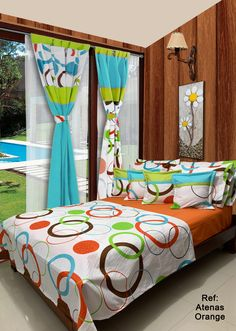 Bedroom Sets, Dream Bedroom, Bedding Sets, Bed Cover Design, Pillow Mat, Dining Chair Covers, Bedroom Images, Curtain Designs, Bed Covers
