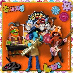 Electric Mayhem Band by Tbear. Kit: Retro Baby! Retro! by CL Graphics http://scrapbird.com/designers-c-73/a-c-c-73_514/country-livs-graphics-c-73_514_351/clgraphics-retro-baby-retro-page-kit-p-17750.html