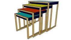 3d model of bureau lenox maisons du monde réf. 147102 prix : 299