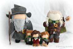 Legolas Felt Plush Lord of the Rings Officially by DrowsyAurora