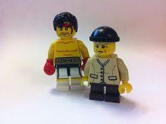 Lego Rocky Custom Minifigure