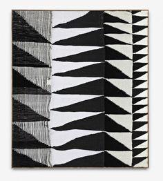 Brent Wadden, Alignment #3 (2012): Various woven fibers, 150 x 130 cm