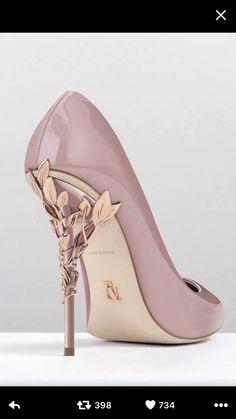 772817d53bf8 Asma s personal universe · Shoe heaven series Rose Gold High Heels