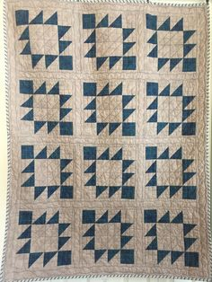 Made to Order quilt; Handmade quilted Indian pattern quilt, masculine quilt, homemade geometric quilt
