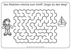 Kniffliges Labyrinth für Kinder! #kids #printable | creative kids ...