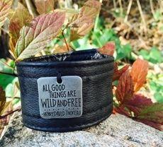 'All Good Things' Black Cuff