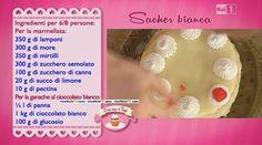 Sacher Bianca Peach, Sweets, Candy, Gelato, Food, Pasta, Cream, Ice Cream, Gummi Candy