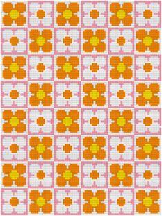 retro cross stitch patterns - Google Search