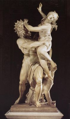 Bernini, The Rape of Prosperina, Borghese, 1621-22