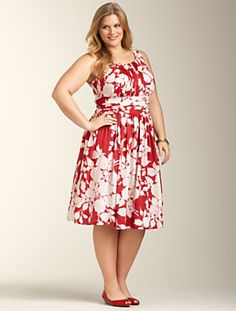 this is dress is flirty and comfortable