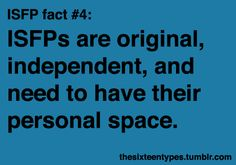 I know this is ISFP and not INFP but it really fits me to a tee.