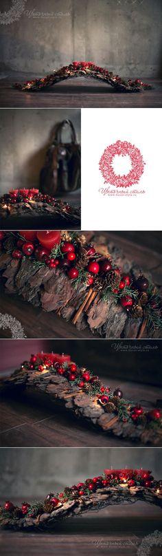 Composición de la Navidad en la galería boutiques Mon Plaisir, DEKAPT, Ermenegildo Zegna: