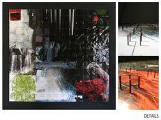 """Saatchi Online Artist Shu Baggio; Collage, """"Textures"""" #art"""