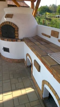 Pizza Oven Outdoor, Outdoor Cooking, Outdoor Kitchen Design, Patio Design, Primitive Kitchen Decor, Outdoor Fireplace Designs, Outdoor Living, Outdoor Decor, Outdoor Projects