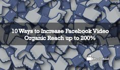 Facebook Video Organic Reach.Facebook marketing has changed a lot over the few years and no longer we can just through some posts. Video Advertising, Marketing And Advertising, Industry Research, Seo News, Facebook Video, New Market, Facebook Marketing, News Blog, Organic