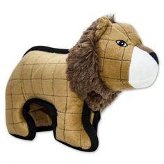 Peluche pour Chien Strong Stuff Lion  / http://www.animaux-market.com/peluche-pour-chien-58