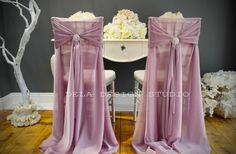 Wedding chair covers... Etsy listing at https://www.etsy.com/listing/181023716/rose-silky-chiffon-chair-cover-sash
