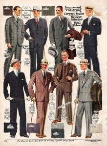 1920's Fashion for Men: A Complete Suit Guide. Och tio år sedan blev det ännu bättre.