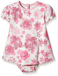 Hatley Girls Horses and FlowersOne Piece Dress Pink 1218 Months ** Want to know more, click on the image. (This is an affiliate link) #BabyGirlDresses