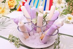 Pinay In Texas Cooking Corner: Mais Queso and Ube Macapuno Ice Candy Filipino Dishes, Filipino Desserts, Filipino Recipes, Filipino Food, Asian Recipes, Ice Candy, Candy Bags, Filipiniana Wedding, Debut Ideas
