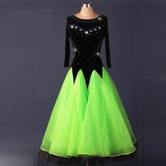 Find More Information about 2017 Sparkling Diamond Modern Dance One piece Dress Big Expansion Bottom Standard Ballroom Dancing Dress for Women M042 ,High Quality dresses line,China dresse Suppliers, Cheap dress art from Love to dance on Aliexpress.com