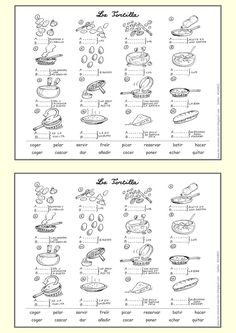 spanish worksheets printables spanish worksheets vocabulary food words fun search puzzle. Black Bedroom Furniture Sets. Home Design Ideas