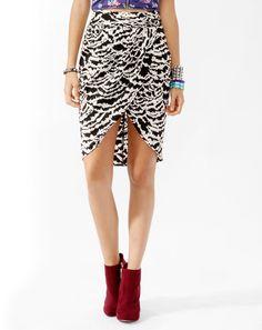 #Forever21                #Skirt                    #Abstract #Print #Tulip #Skirt                      Abstract Print Tulip Skirt                                                    http://www.seapai.com/product.aspx?PID=98886
