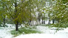 Magical winter in April