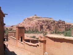 Ait Benhaddou, al sur de Marruecos (Patrimonio de la Unesco)