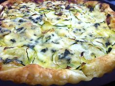 Martine's skinny courgette quiche