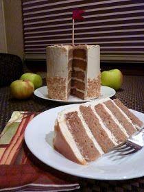 Sweet Treats & Healthy Eats: Apple Caramel Cake