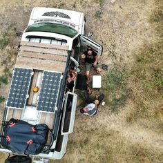 How to add solar power to a diy camper or RV. Tips for finding the best solar panels and installing on top of your campervan conversion. Hacks for the best placement; and tricks for getting the most efficiency out of your solar. This is the perfect #vanlife guide to solar electricity. It tells you how to set up your kitchen, bathroom and living area to run off solar and gives advice on how to wire everything together! Great ideas for an adventure build. Hacks Diy