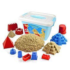 Motion Sand, 2.2lbs Deluxe Bucket Kinetic Play Sand,Castl... https://smile.amazon.com/dp/B01LAC0MWM/ref=cm_sw_r_pi_dp_U_x_g1RsBbH4XD5PM