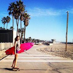 girl + skate + surf
