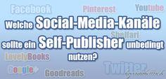 Welche Social-Media-Kanäle sollte ein Self-Publisher unbedingt nutzen? http://violabellin.de/welche-social-media-kanaele-sollte-ein-self-publisher-unbedingt-nutzen/