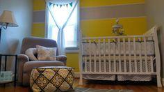 Emma Kinsley's Yellow and Grey Nursery - Project Nursery