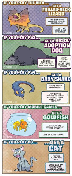 Dorkly Comic: The Perfect Pet For Every Gamer   Geeks are Sexy Technology News
