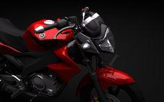Yamaha Vixion 150 3Ds - 3D Model