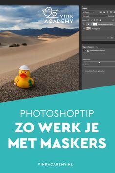 Photoshop Tip voor beginners: wil je een fotobewerking op slechts een deel van de foto hebben? Leer dan hoe je met maskers werkt!