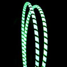 Glow in the dark hula hoops! Awesome!