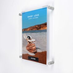 Wall mounted easy access frames made from clear acrylic, perfect for areas where the poster or insert needs regular updating. The easy access acrylic pocket allows the print to be changed without removing the wall mounts. Acrylic Frames, Clear Acrylic, Poster Display, Print Your Photos, Clear Perspex, Photo Picture Frames, A4 Poster, Easy Access, Wall Mount