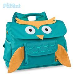 Bixbee Owl backpack, $35. (http://www.mastermindtoys.com/Bixbee-Owl-Backpack-Small.aspx)