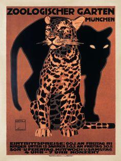Zoologischer Garten, 1912 Art Print at AllPosters.com
