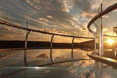 Skywalk at sunset